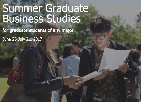 Summer Graduate Business Program, Victoria, BC, Canada