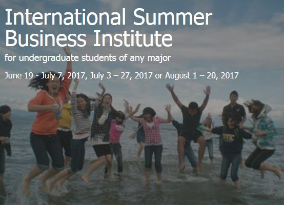 International Business Summer Institute, Victoria, BC, Canada